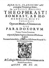 Opera Medico-Chimica sive Paradoxa: Volume 2