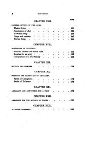 An Elementary Treatise on Artillery and Infantry: Adapted to the Service of the United States : Designed for the Use of Cadets of the U.S. Military Academy, and for Officers of the Independent Companies of Volunteers and Militia