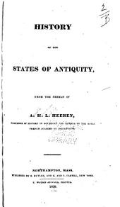 History of the States of Antiquity