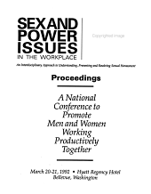 Sex and Power Issues in the Workplace PDF