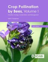 Crop Pollination by Bees  Volume 1 PDF
