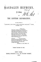 Magdalen Hepburn: a story of the Scottish reformation