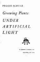 Growing Plants Under Artificial Light PDF