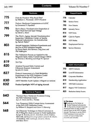 Materials Evaluation PDF