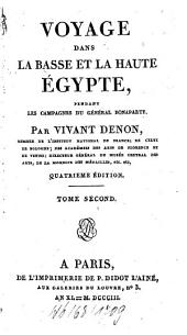 Voyage Dans La Basse Et La Haute Égypte Pendant Les Campagnes Du Général Bonaparte: Volume2