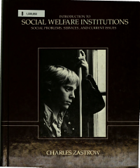 Introduction to Social Welfare Institutions