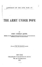 The Army Under Pope: Volume 4