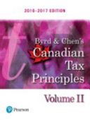 Byrd and Chen s Canadian Tax Principles  2016   2017 Edition PDF