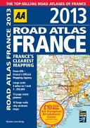 2013 Road Atlas France