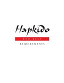 Hapkido  Red Belt Requirements PDF