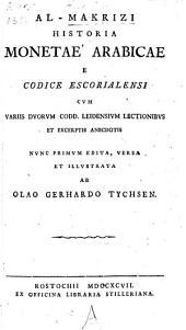Historia Monetae Arabicae
