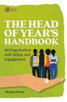 The Head of Year s Handbook PDF