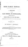 A history of the Clan Eoghan  or Eoghanachts PDF