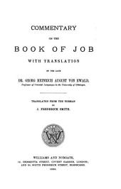 Ewald's Commentary on the Book of Job