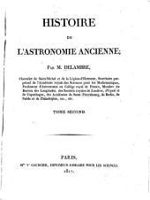 Histoire de l'astronomie ancienne: Volume2