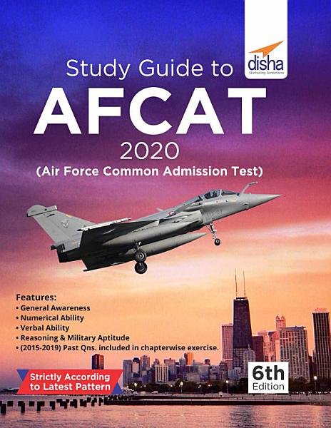 Study Guide to AFCAT 2020  Air Force Common Admission Test  6th Edition PDF
