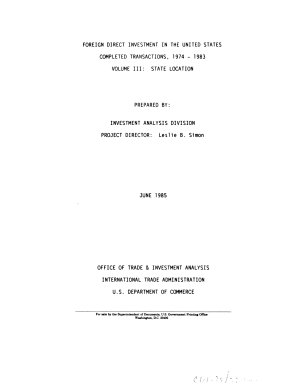 Foreign Direct Investment in the United States  State location PDF