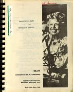 Eleanor Roosevelt National Historic Site, Hyde Park, Draft Assessment of Alternatives