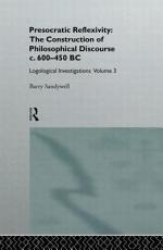 Presocratic Reflexivity PDF