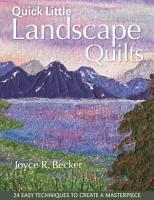 Quick Little Landscape Quilts PDF