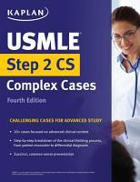 USMLE Step 2 CS Complex Cases PDF