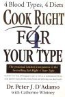 Cook Right 4 Your Type Book