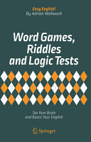 Word Games  Riddles and Logic Tests PDF