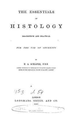 The Essentials of Histology PDF