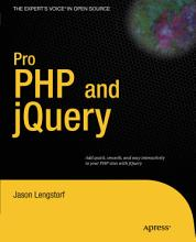 Pro PHP and jQuery PDF