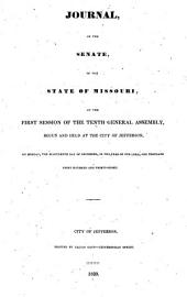 Journal of the Senate of the State of Missouri at the ... Session of the ... General Assembly: Volume 10