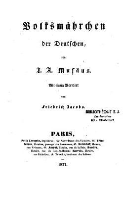 Volksm  hrchen der Deutschen PDF