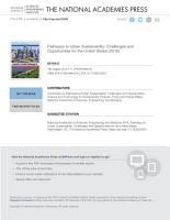 Pathways to Urban Sustainability PDF