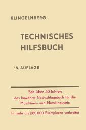Klingelnberg Technisches Hilfsbuch: Ausgabe 15