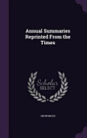Annual Summaries Reprinted from the Times PDF