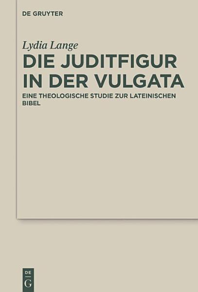 Die Juditfigur in der Vulgata PDF