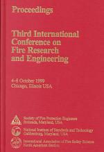 Fire Research and Engineering, Third International Conference Proceedings