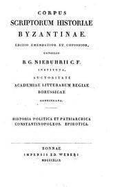 Historia politica et patriarchica Constantinopoleos