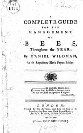 A Complete Guide for the Management of Bees ...