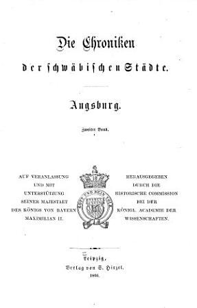 Die Chroniken der deutschen St  dte vom 14  bis ins 16  Jahrhundert PDF
