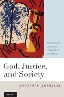 God  Justice  and Society PDF