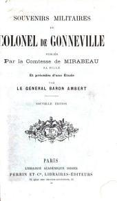 Souvenirs militaires du colonel de Gonneville