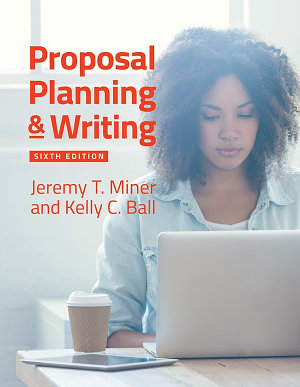 Proposal Planning   amp Writing  6th Edition PDF