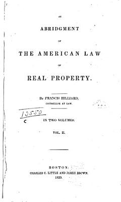 An Abridgment of the American Law of Real Property PDF