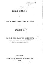 Sermons on the character and duties of women
