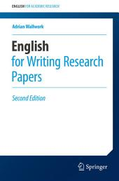 English for Writing Research Papers: Edition 2