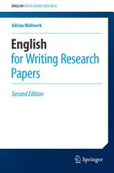 English For Writing Research Papers Book PDF