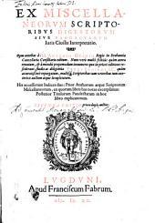 Ex miscellaneorum scriptoribus digestorum sive pandectarum iuris civilis interpretatio