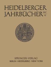 Heidelberger Jahrbücher: Band 11