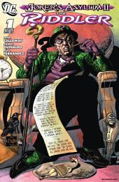 Joker's Asylum: The Riddler #1