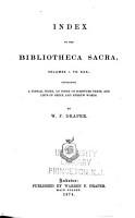 Bibliotheca Sacra and Theological Review PDF